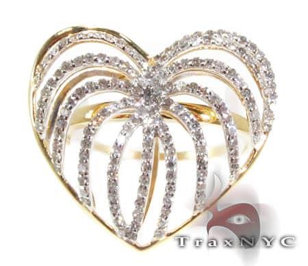 Heart Fountain Ring Anniversary/Fashion
