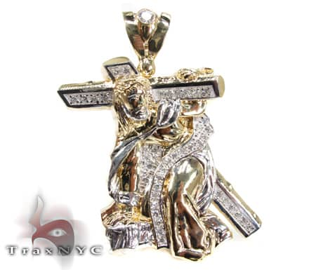 Crucifixion Pendant Gold Pendants