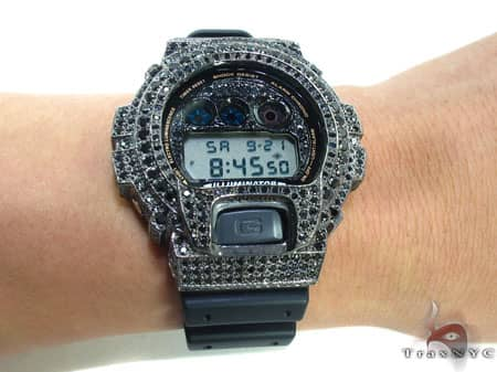 Black Rhodium  G-Shock Case G-Shock