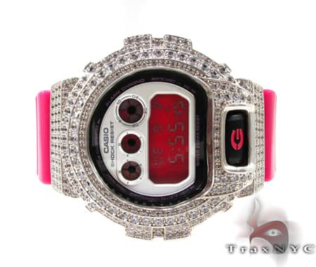 Prong Diamond G-shock Watch G-Shock