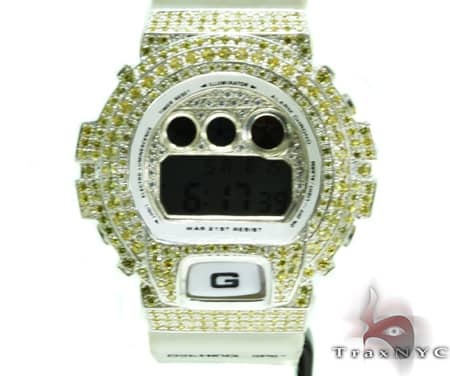White Gold G-Shock Illuminator Case G-Shock