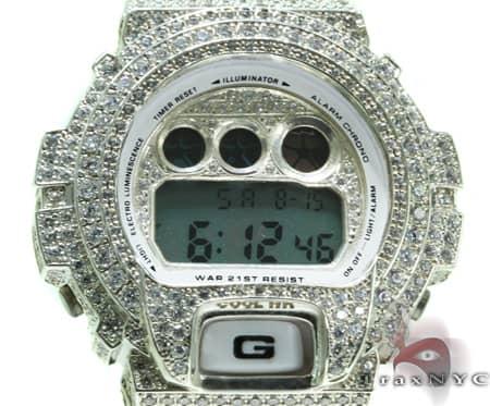 white gold g shock illuminator mens g shock watches