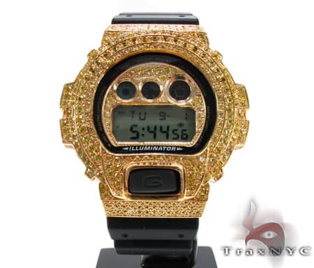 Yellow Gold G-Shock Illuminator Case G-Shock