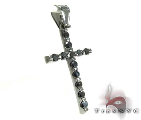 Black Tension Cross Diamond