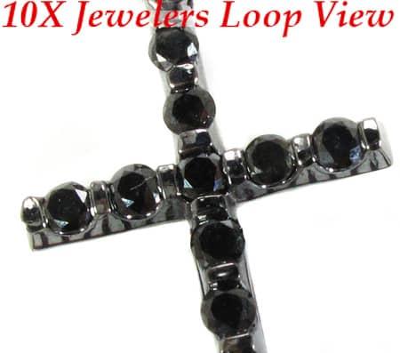 Black Tension Cross Diamond