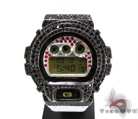 Black Gold Red Ruby G-Shock Case G-Shock