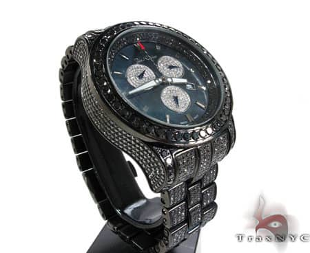 Joe Rodeo Master Pilot Black Diamond Watch JMP23 Joe Rodeo