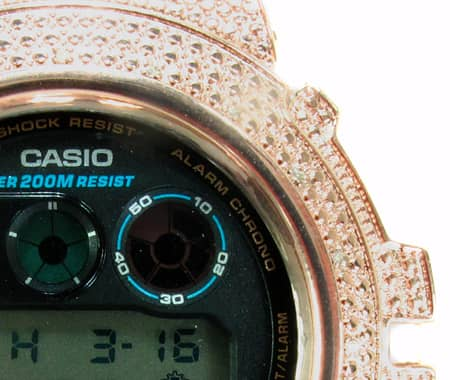 Rose Gold G-Shock Case G-Shock