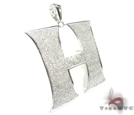 Mighty H Pendant Metal