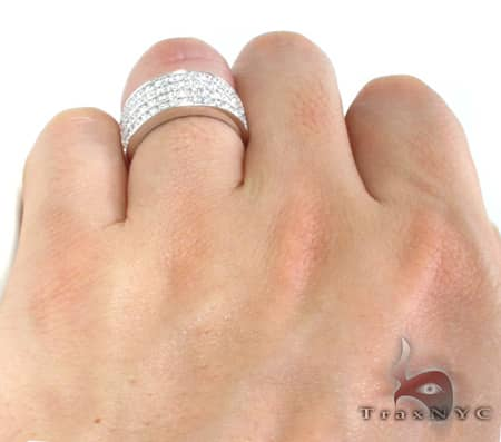 4 Row Icy Ring 10984 Stone