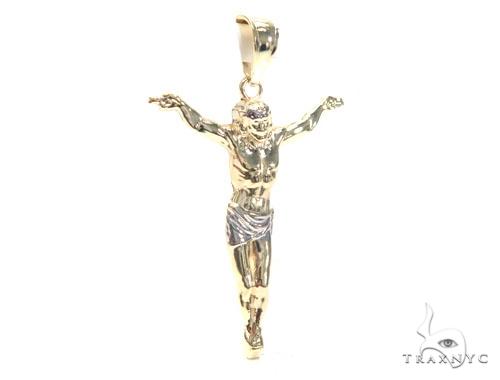 10K Gold Crucifix 44791 Style