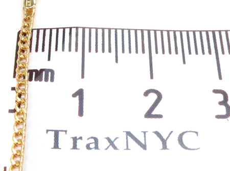 10K Gold Cuban Bracelet 33037 Gold