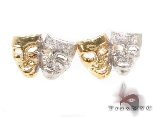 10K Gold Earrigns 34172 Metal