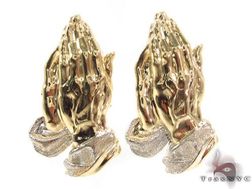 10K Gold Earrings 34174 Metal