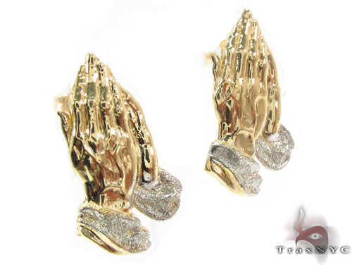 10K Gold Earrings 34176 Metal
