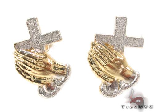 10K Gold Earrings 34179 Metal