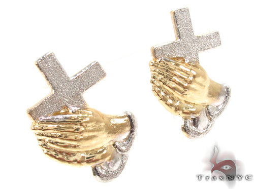 10K Gold Earrings 34179 Metal
