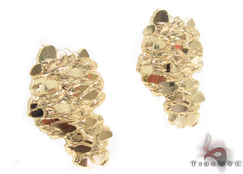 10K Gold Earrings 34184 Metal