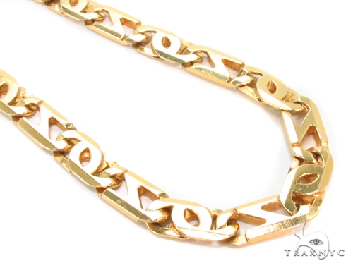 page chains gold qvc product cut necklace com plate name diamond