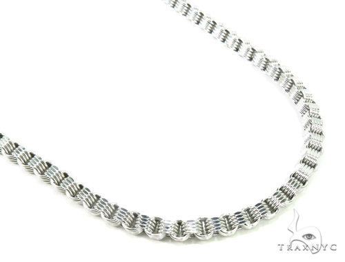 10K Gold Fancy Chain 32 Inches 4mm 19 Grams Gold