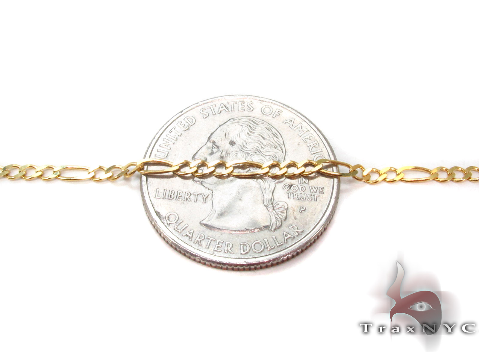 10K Gold Anchor Diamond Cut Bracelet 33203 Gold