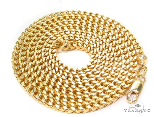 10K Gold Franco Chain 30 Inches 3mm 21 Grams Gold