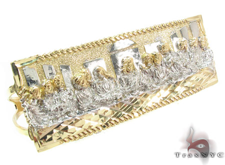 10K Gold Last Supper Ring 33225 Metal