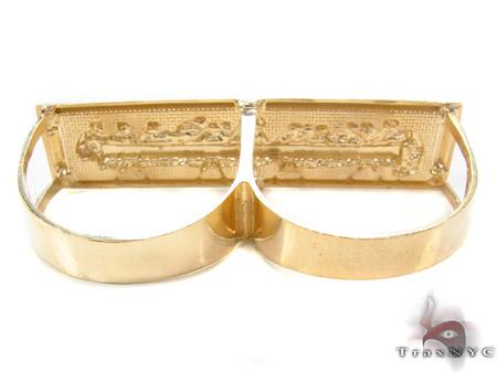 10K Gold Last Supper Ring 33232 Metal
