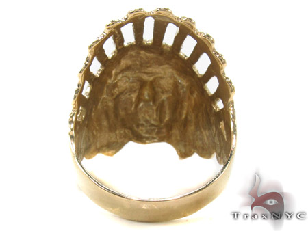 10K Gold Ring 33248 Metal