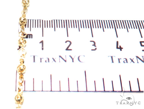 10K Gold Rosary Chain  28 Inches 3mm 8.4 Grmas 42312 Gold