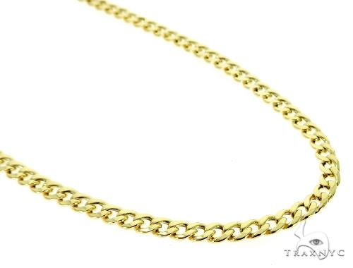 10K Hollow Traxnyc Miami Cuban Chain 28 Inches 6mm 22.8 Grams Gold
