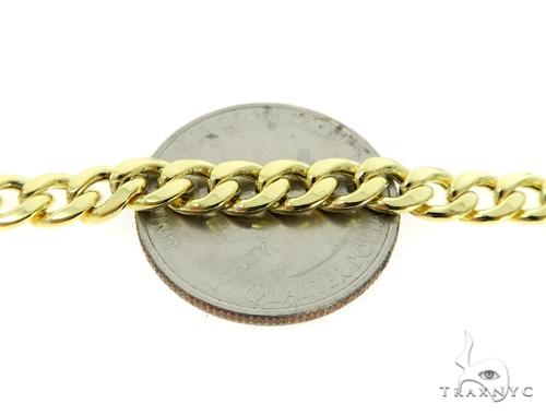 10K Hollow Traxnyc Miami Cuban Chain 30 Inches 6mm 26.3 Grams Gold