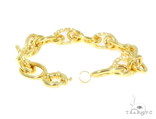 10K Yellow Gold Bracelet 44349 Gold