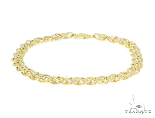10K Yellow Gold Bracelet 44358 Gold