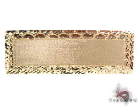 10K Yellow Gold ID Ring 33308 Anniversary/Fashion