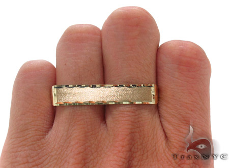 10K Yellow Gold ID Ring 33314 Metal