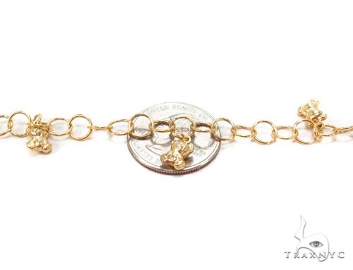 10k Gold Bear Bracelet Gold