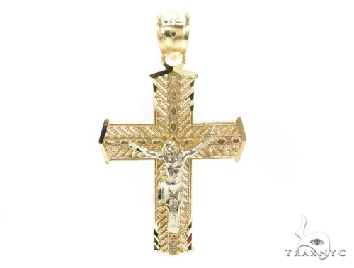 10k Gold Cross 34854 Gold