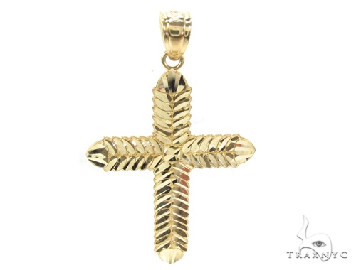 10k Gold Cross 34859 Gold