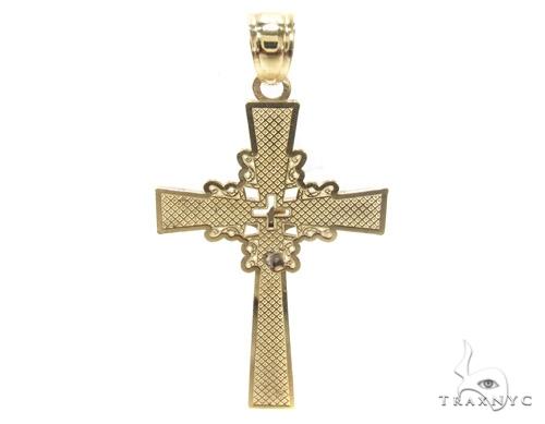 10k Gold Cross 34863 Gold