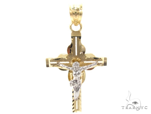 10k Gold Cross 34876 Gold