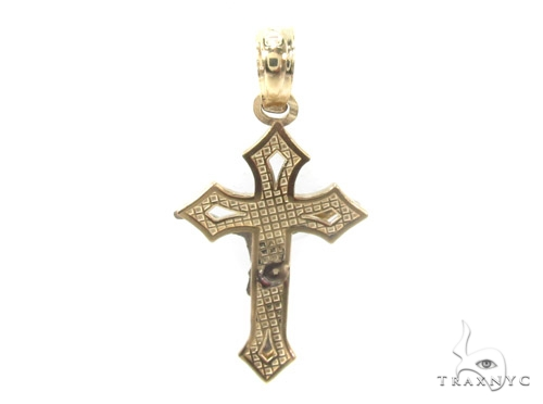 10k Gold Cross 34880 Gold