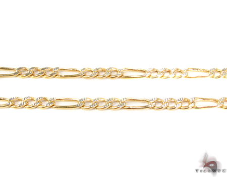 10k Gold Diamond Cut Chain 24 Inches 3mm 4.48 Grams Gold