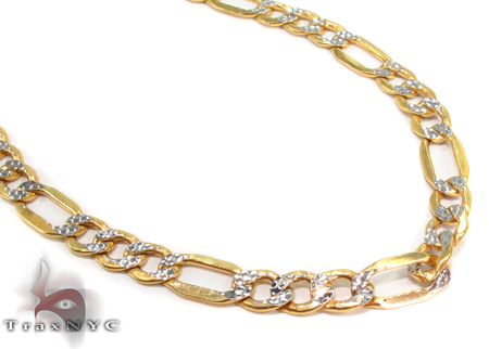 10k Gold Diamond Cut Chain 26 Inches 5mm 10.29 Grams Gold