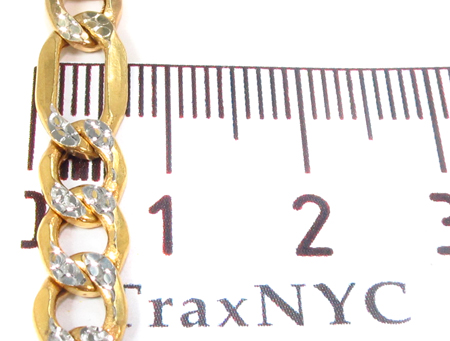 10k Gold Diamond Cut Chain 26 Inches 7mm 15.37 Grams Gold