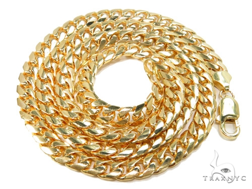 10k Gold Miami Cuban Chain 24 Inches 6mm 45.80 Grams 40974 Gold