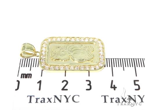 10k Gold Pamp Suisse Bar Rope Chain Set 44823 Metal