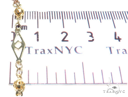 10k Gold Rosary Chain 28 Inches 4mm 13.7 Grams 42490 Gold