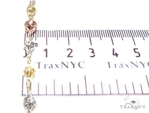 10k Gold Rosary Chain 28 Inches 5mm 17.3 Grams 42489 Gold