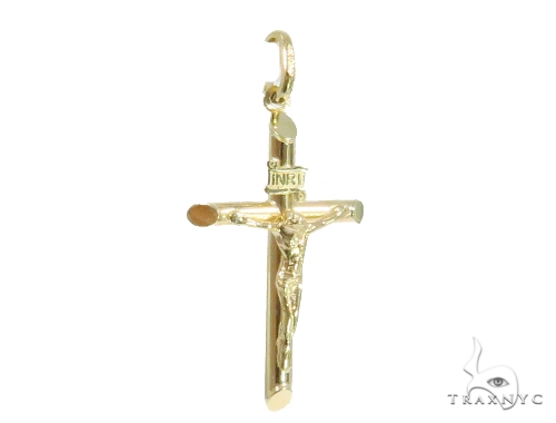 10k Yellow Gold Cross 44398 Gold